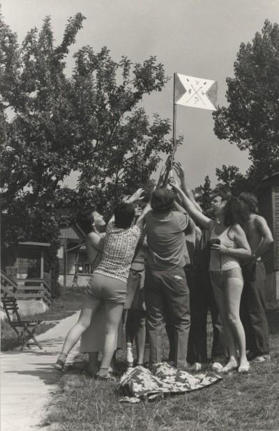 Július Koller, Standard Cultural Situation (UFO) 1984