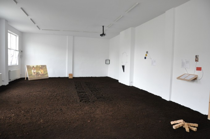 Anca Benera & Arnold Estefan, We Were So Few And So Many Of Us Are Left, 2013, exhibition view, tranzit.ro/ București