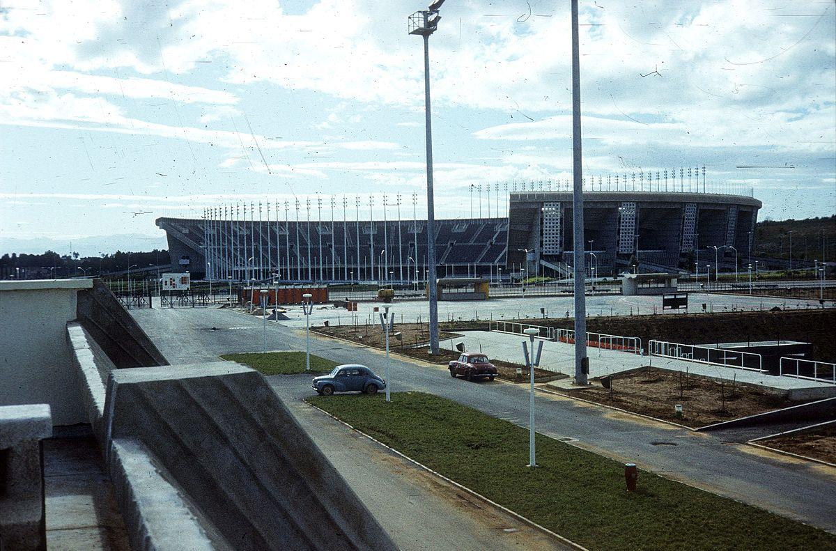 Olimpiai_Komplexum,_szemben_az_1962._július_5.-e_Stadion._Fortepan_100571