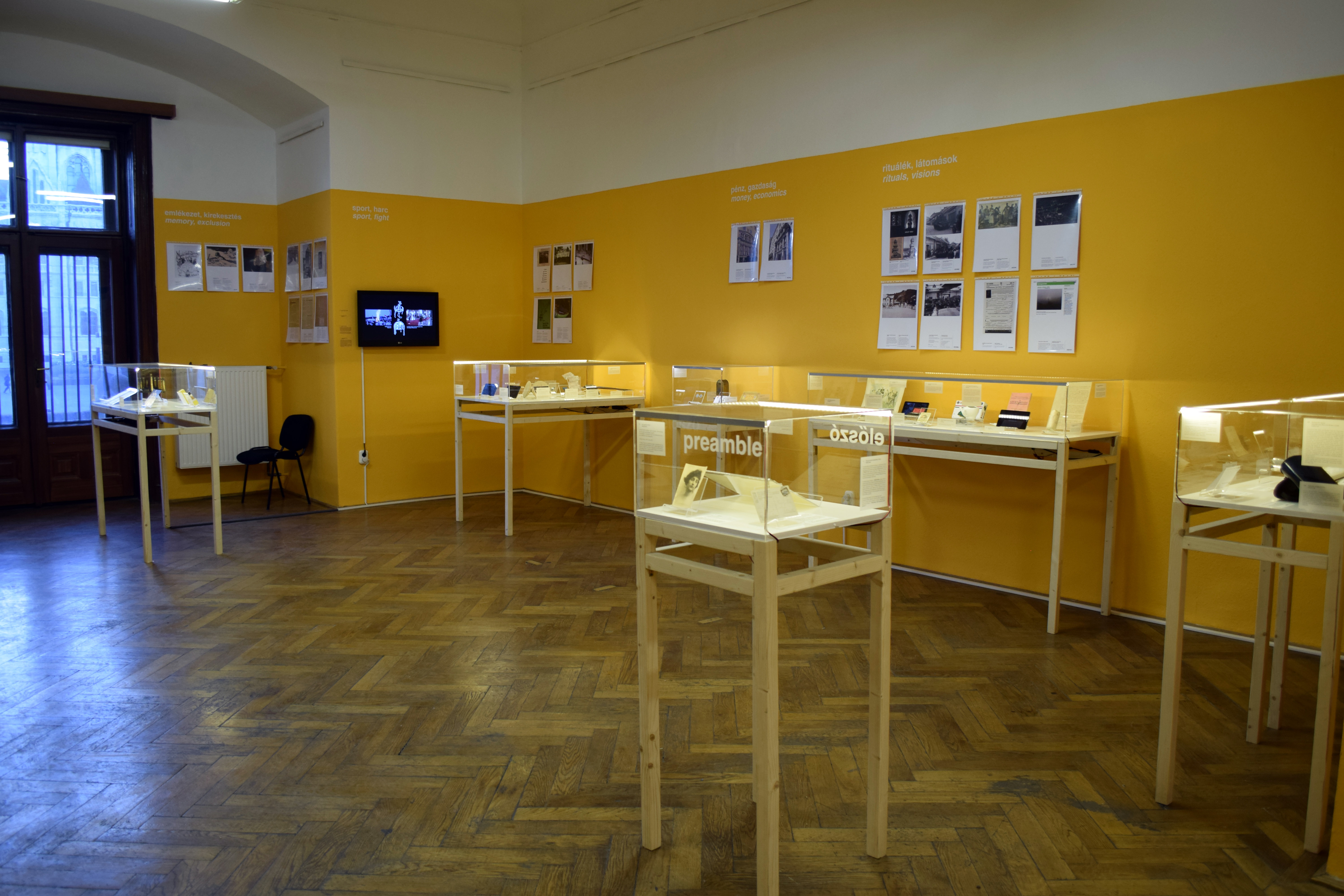Szabolcs KissPál From Fake Mountains to Faith (Hungarian Trilogy) Installation view at the Institute of Political History, Budapest Photo: Szabolcs KissPál