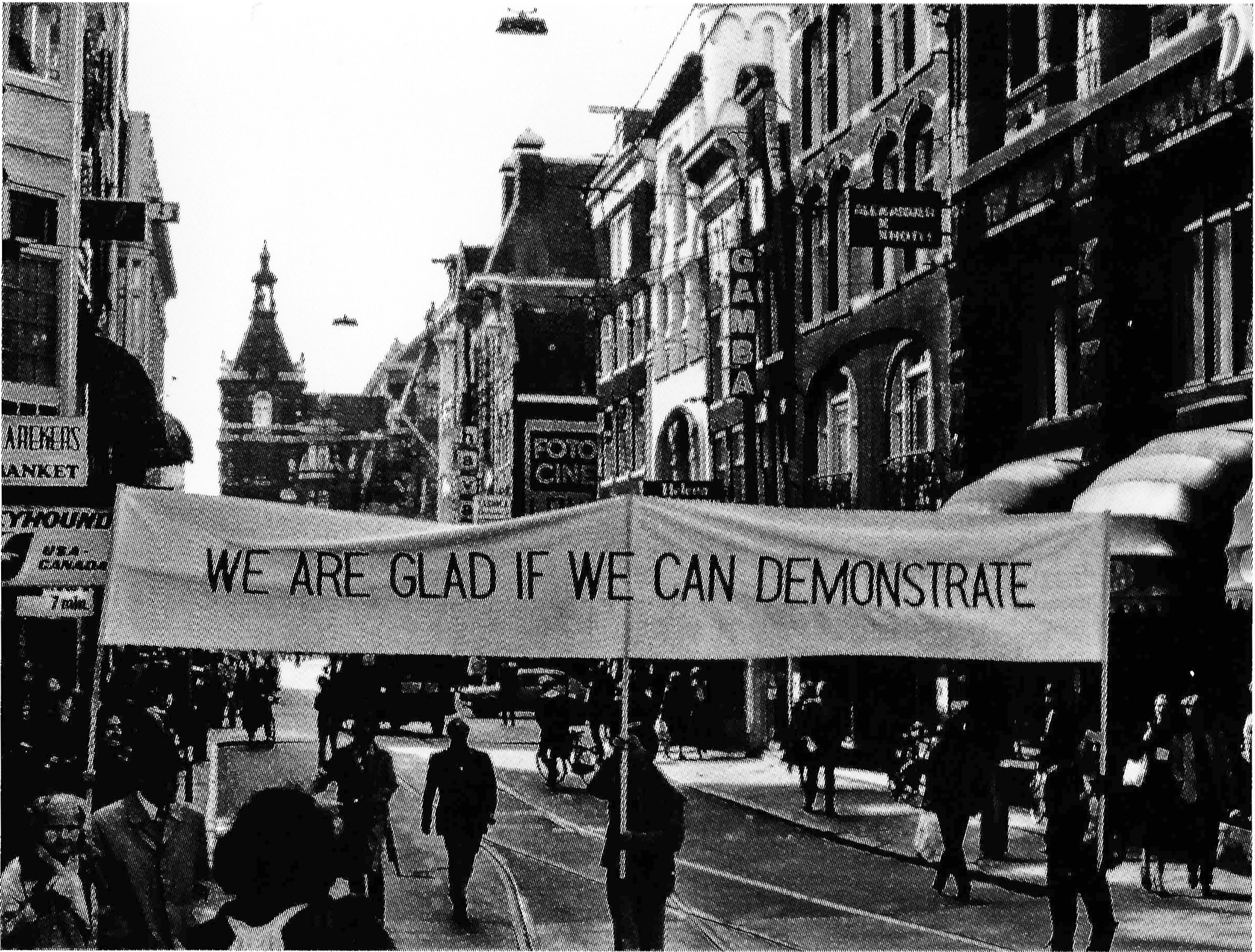 Tot_Endre_Oromdemonstracio_Gladness_Demonstration_Amsterdam_1979